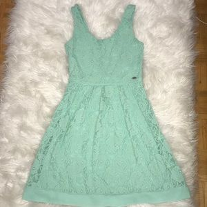 Mint green Guess dress